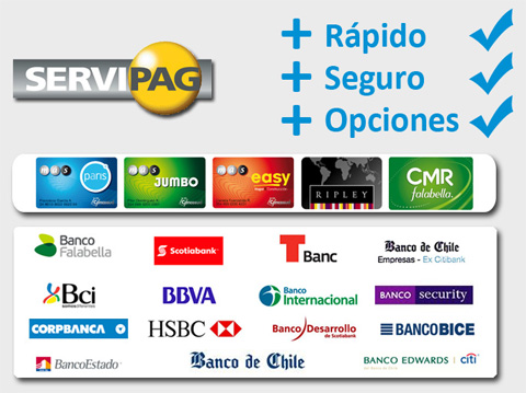 globaltecno pagos tarjetas y bancos