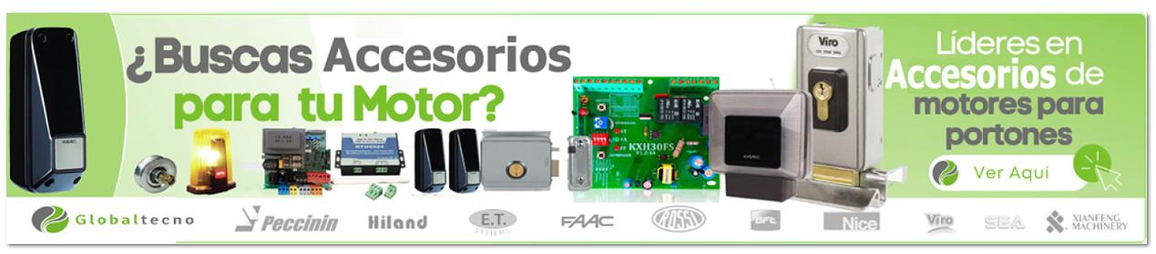 accesorios portones electricos automaticos motores portones globaltecno